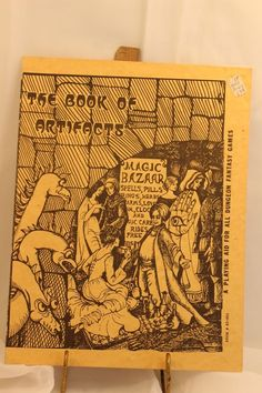 The Book of Artifacts Playing Aid for all Dungeon Fantasy Games Dragon Original