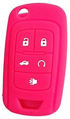 New Silicone Key Cover Shell 5 Buttons for Chevrolet Equinox Camaro Malibu FOB