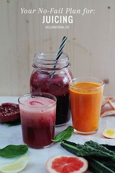 No-Fail Juicing Plan