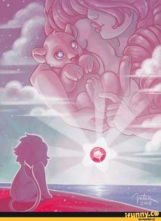 Steven universe,разное,Pink Lion,Lion (SU),Rose Quartz,SU art