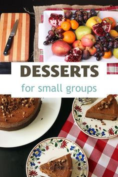 Whether you're hosting just a few at Thanksgiving, Christmas, or New Years, these desserts deliver when it comes to making your favorite few feel special. Thanksgiving Desserts Easy, Thanksgiving Feast, Easy Desserts, Dessert Recipes, Homemade Chocolate, Chocolate Desserts, Good And Cheap, Recipes For Beginners, Sweet Bread