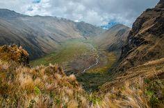 Valle de Collares, Volcán Altar, Ecuador.