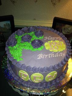 Ube cake with italian swiss meringue buttercream