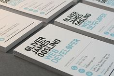 5 Steps to Designing your Business Card 1. Start with a Simple Message 2. Leave Space! 3. Avoid Psycho-Color and Clutter 4. Choose Your Fonts Wisely 5. Feel Free to be inventive (but not mad professor inventive)