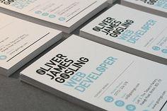 oliver james gosling business card