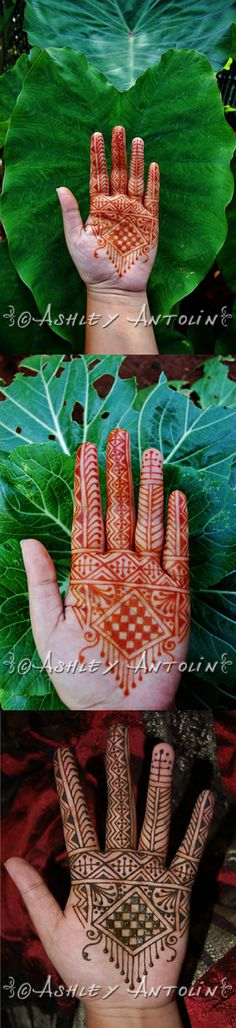 """BODY ART BY  ASHLEY ANTOLIN The Big Henna Contest 2014 - Round 1 entry : Morrocan - Please vote for your favorite by clicking on the """"heart/favorite"""" button and/or re-pinning the pin you like to your boards!"""