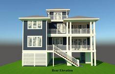 The South Creek is offered by SDC House Plans. View more Coastal House Plans on the SDC website. Coastal House Plans, Beach House Plans, House Floor Plans, Beach Cottage Decor, Coastal Cottage, Coastal Homes, Beach Homes, Cottage Paint Colors, Beach House Furniture