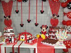 Festa Minnie Liz 2 anos