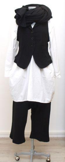 nelly johansson - Weste ALIZIA black - Winter 2015 - stilecht - mode für frauen mit format...