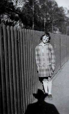 Digitalt Museum - Kirsten Flagstads datter Else-Marie 1927. Kirsten Flagstads daughterr Else-Marie 1927.