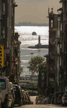 From Windmills street, Haidar Pasha seaside - ISTANBUL.
