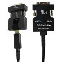 PureLink EZ-D 100m (328.08') Integrated Detachable DVI Over Fiber Cable with TotalWire Technology