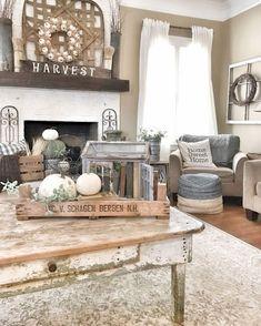 Nice 60 Awesome Farmhouse Home Decor Ideas https://homeylife.com/60-awesome-farmhouse-home-decor-ideas/