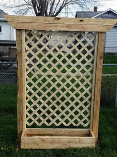 If you're limited on gardening space or maybe want to block out some neighbors and get a little privacy in your backyard then building some planter boxes with trellises may be the way to go. …