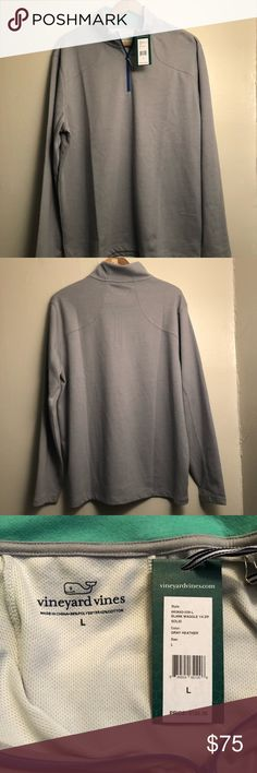 Vineyard Vines Pullover Large New with Tags $125 Brand new Vineyard Vines Large Pullover Quarter Zip with Tags $125 Vineyard Vines Sweaters