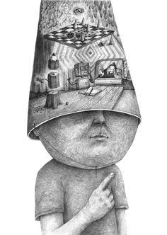 Surrealistic Drawings by Stefan Zsaitsits2