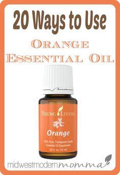 20 Orange Essential Oil Uses