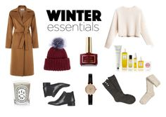 """Winter Essentials"" by annyasin ❤ liked on Polyvore featuring Eugenia Kim, Hobbs, Diptyque, Topshop, Rodin, Barbour, maurices and H&M"