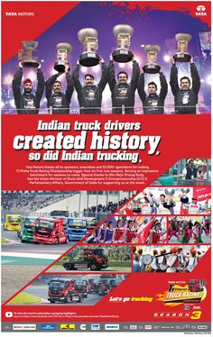 Indian Truck Drivers Created History, So did Indian Trucking     Tata Motors, Truck Drivers, Transportation, Stuff To Do, Racing, Indian, Technology, History, Tech