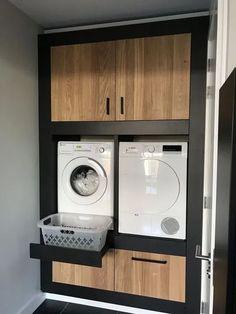 Unique Laundry Room Decoration Ideas Just For You - Waschraum - Home, Kitchen Design, Vintage Laundry Room, House Design, House Interior, Modern Laundry Rooms, Room Design, Room Decor, Bathroom Design