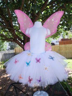 love the idea of butterflies on the tutu!!