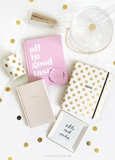 Because planning the life of a girl boss is hard work and a planner makes things so much simpler. Writing things down can help you remember events and deadlines much better than just typing it into your phone. Our best advice – just don't lose it! It's practically girl boss suicide.