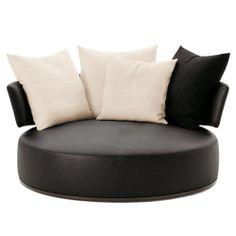 round swivel loveseat | ... ITALIA MAXALTO Amoenus Round Swivel Sofa online at UtilityDesign.Co.Uk