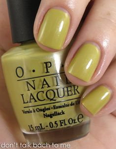 Don't Talk Bach to Me: Review & Swatches: OPI Germany Collection for Fall/Winter 2012 - fabulous colours and fabulous names for them.