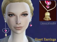HypeRSoniC's Heart Earrings