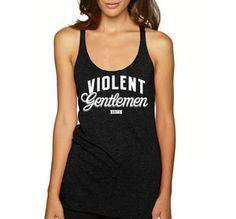 Violent Gentlemen Unite - racerback