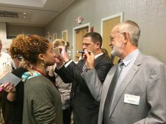 Florida Fundamental Sept 30- Oct 6. Hands on Iridology with Instructors Luis Ramos and Stuart Hite