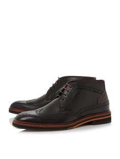 Ted Baker Cinika Brogue Eyelet Boots