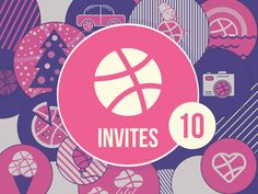 Dribbble Invites by Tamara for Yalantis