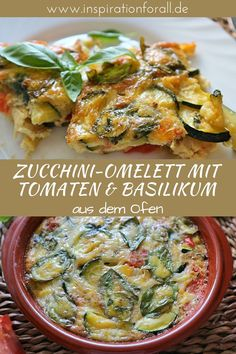 Zucchini Frittata, Quiche, Baby Food Recipes, Healthy Recipes, Frittata Recipes, Berries, Low Carb, Brunch, Food And Drink