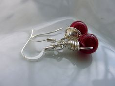 Petite Wire Wrapped Earrings  You choose the by CherylsHealingGems, $9.00