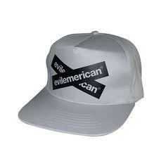 Evilemerican Cap - EvilX – Grey Baseball Hats, Platform, Cap, Grey, Fashion, Baseball Hat, Gray, Moda, Baseball Caps