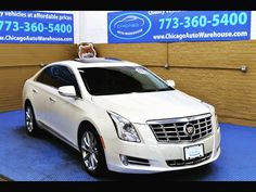 2014 Cadillac XTS Luxury AWD - 43k Miles  Automatic, V6, panoramic sunroof, Leather, all wheel drive , Navigation , Back up camera, front and rear heated seats , memory and dual power seats , chrome wheels , 1 owner clean carfax , tinted windows , preferred color combo Pearl White / Gray, Nicest one around !  Financing for all types of credit !   Chicago Auto Warehouse 3325 W Montrose Ave  Chicago IL 60618 (773) 360-5400
