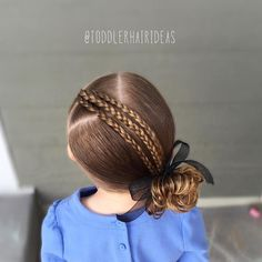 See this Instagram photo by @toddlerhairideas • 431 likes