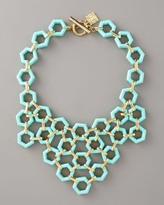 .hex nut necklace