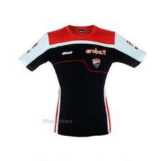Aruba Ducati Superbike Team Official womens T shirt SBK Corse Davies Melandri
