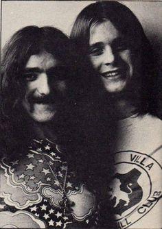 Geezer Butler and Ozzy Osbourne!!!