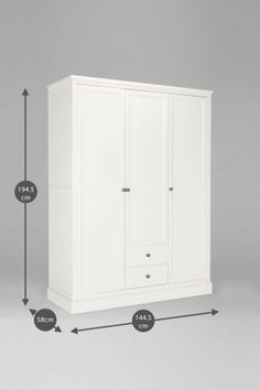 Unique Buy Hove Triple Wardrobe from the Next UK online shop