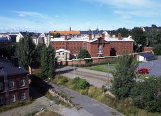The prison, Katajanokka before the change, Helsinki 2005