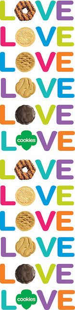 Love my Girls Scouts and their  cookies!