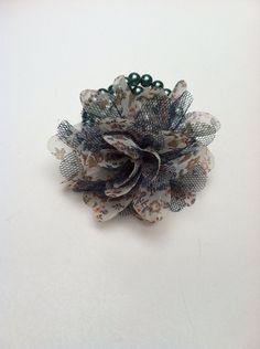 Blue Flower  on Etsy, $16.00
