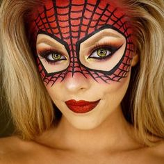 Halloween Spiderman inspired look! ❤️ From @jadedeacon