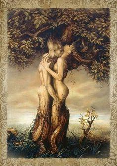 Beltane. Tree of life.