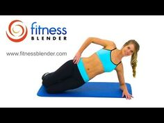 Fitness Blender: 5x5x5 Pulse Workout for Abs and Obliques. Exercises: Side Hip Raises, Switch Sides; Touch Toe Crunches; Flutter Kicks; Butterfly Crunches and Oblique Crunches.