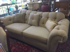 This is a very nice sofa.  Super comfortable.  Great condition.  Excellent quality at a fraction of the price of new.  Why buy retail when you can buy resale?  <br>  <br>Delivery Available     <br>Major Credit Cards Accepted  <br>  <br>TREASURE HUNT  <br>2300 S. Elmhurst Rd.   <br>Mt. Prospect, IL 60056  <br>  <br>PHONE:  <br>  show contact info  <br>  <br>  <br>EMAIL:  <br>  show contact info  <br>  <br>WEB:  http://www.yourtreasurehunt.com    <br>  <br>  Find Us On Facebook…