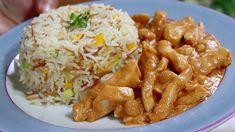 Veľmi chutné jedlo z bežne dostupných surovín podľa receptu z youtube. Nepotrebujete žiadne špeciálne zručnosti a bez veľkej námahy vyčarujete obed ako lusk!Potrebujeme:650 g kuracích pŕs3 PL oleja2 PL masla1 malú cibuľu1 a pol PL … Biryani, Tandoori Masala, Crescent Roll Recipes, India Food, Cooking Recipes, Healthy Recipes, Rolls Recipe, Tasty Dishes, Family Meals